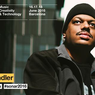 Kerri Chandler live @ Sonar Festival   ( Barcelona) 17 / 06 /2016