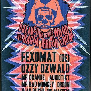 Fexomat @ Breakcore Gives Me Wood vs Ragga Terror Front [MS Hoeve/Antwerp] 2014