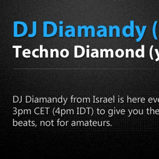 Diamandy - Techno Diamond(y) Show Eclectic Radio Episode 5 (Israeli Techno Episode)