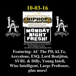 HipHopPhilosophy.com Radio - LIVE - 10-03-16