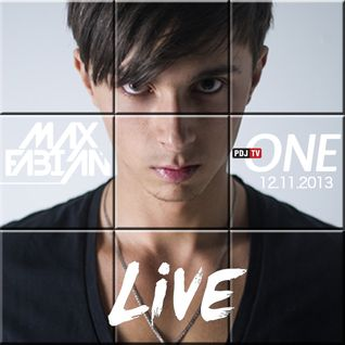 Max Fabian - Live at PDJTV One Channel 12.11.13