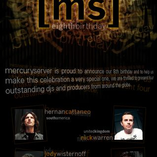 Mercuryserver.Com 8th Birthday Presents Hernan Cattaneo Exclusive Mix
