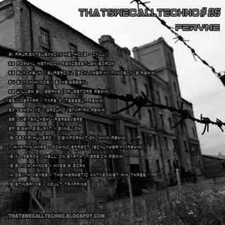 Thatswecalltechno025-Feryne