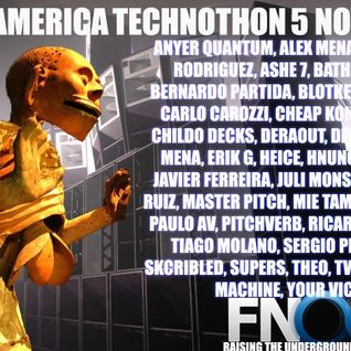 Quetzalcóatl & Tezcatlipoca... set for the Fnoob's latin american Technothon mixed by Anyer Quantum