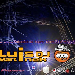 LUISDJ MARTINEK EN VIVO DESDE EXA FM 95.5 QRO FEB HITS 2013