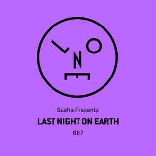 Sasha – Last Night On Earth 007 (November 2015)
