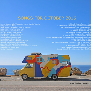 SONGS FOR OCTOBER 2016