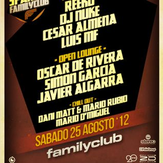 Cesar Almena - Podcast to FamilyClub (Aug 2012)