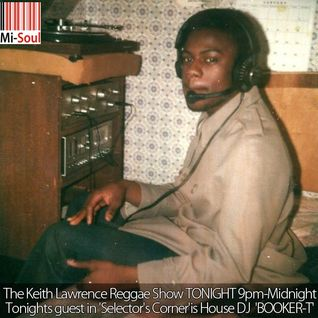 House DJ BOOKER T with 'Selector's Corner'.  The Keith Lawrence Reggae Show 28/11/12