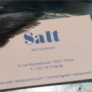 Salt Restaurant Paris mix 2015
