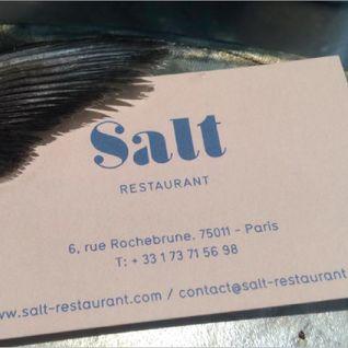 Salt Restaurant Paris mix 2015