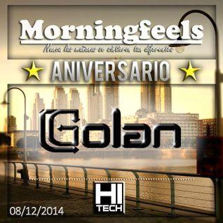 DJ Golan @ Morningfeels Aniversario - Puerto Madero (08-12-2014)