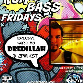 !Live Rum & Bass Fridays @BrandonDNB with @Dredillah on @HushFMRadio - www.hushfm.com(6-5-2015)