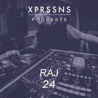 XPRSSNS PODCASTS 24 - RAJ