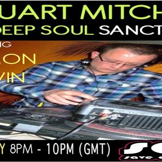 Stuart Mitchell pres The Deep Soul Sanctuary on SOS LIVE with guest Damon Melvin - 09/07/13