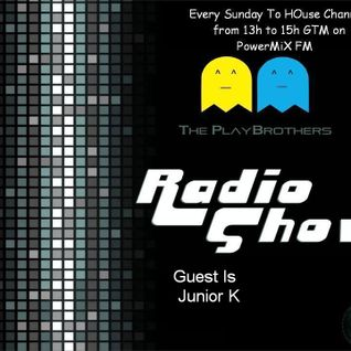 The PlayBrothers Radio Show .:Guest Junior K:.