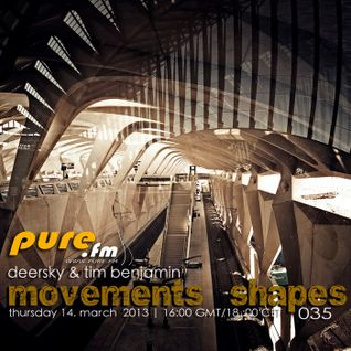 timbenjamin movements shapes at pure.fm march 2013