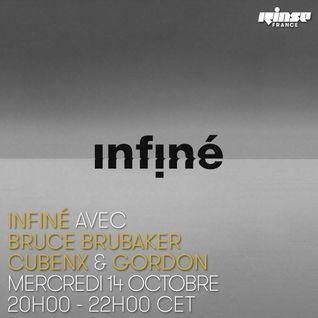 InFiné Invite Bruce Brubaker, Cubenx & Gordon - Mercredi 14 Octobre 2015