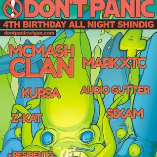 DJ DANNY INTRO :: DON'T PANIC 4TH BIRTHDAY SET ( RE - VISITED ) :: SATURDAY 11TH MAY 2013
