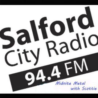 Midnite Metal with Scottie 230516 on 94.4 FM Salford City Radio