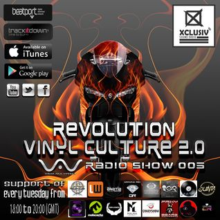 Revolution Vinyl Culture #5 by Virax Aka Viperab (FINAL SESSION on XCLUSIV)