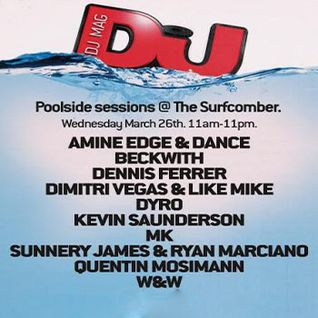 MK - DJ Mag Poolside Sessions, Surfcomber Miami (Miami Music Week) - 26.03.2014
