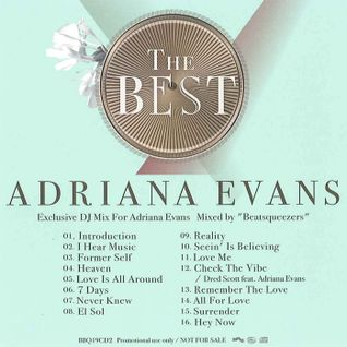 Exclusive DJ Mix For Adriana Evans