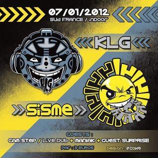 JAKOTEK ( mix tribe) @ SISME.KLG party 07.01.2012