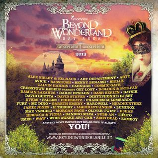 Live @ Beyond Wonderland in San Francisco Bay Area [Sep 28 2013]