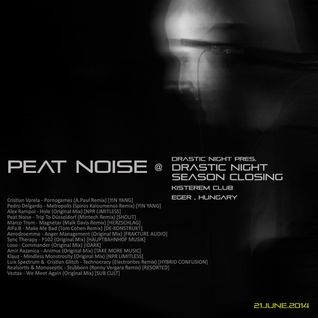 Peat Noise @ Drastic Night - Season Closing, Kisterem, Eger (Hungary) (21.JUNE.2014)