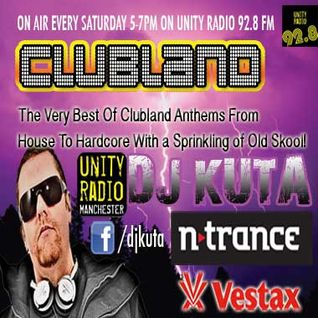 Clubland Show 15 on Unity Radio 92.8 FM 02/03/13