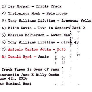 8 Track Tapes by: Konstantin Jace
