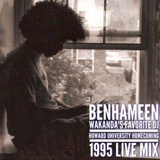 DJ BenHaMeen - Howard University Homecoming 1995 Live Mix