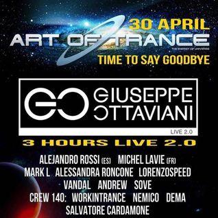 Andrew Dj Live @Cap Creus (Art Of Trance pres. Giuseppe Ottaviani) 30-04-2016