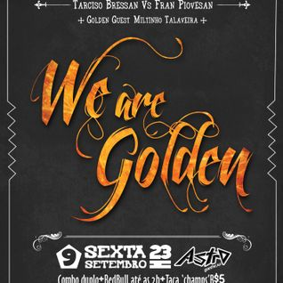 We Are Golden Mixtape #1
