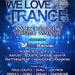 Next DJ - We Love Trance 343 After Club Edition (02-02-15)
