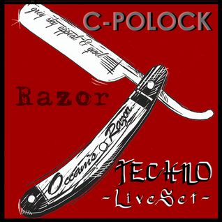 C-POLOCK - Techno  Razor Live Set @ Palermo FREAK (Salon Berlin - BA) - [14.Dic.2014]