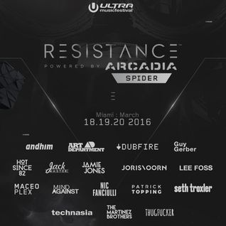 Sasha - Live at  RESISTANCE stage, Ultra Music Festival, Miami - 19th March 2016