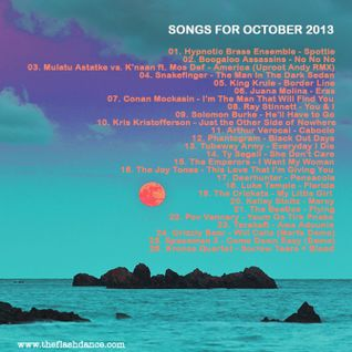 SONGS FOR OCTOBER 2013