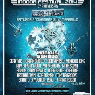 Mark Sixma - Live @ GrotesQue Indoor Festival 2014 (Maassilo, Rotterdam) - 08.11.2014