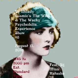 Milady Cosmic feat. Miss Natasha 78 Darkpsy set Show#8 Clubtronic Station