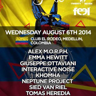 Emma Hewitt & John O Callaghan - Live @ FSOE 350, Club El Rodeo (Medellin, Colombia) - 06.08.2014