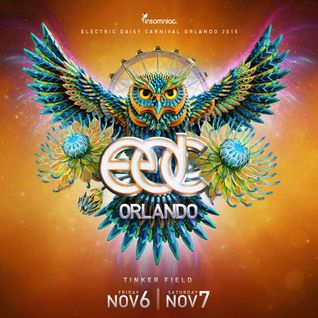 Slander live @ Electric Daisy Carnival Orlando 2015   07.11.2015