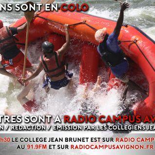 Le collège Brunet fait son show ! Radio Campus Avignon - 21 juin