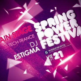 Estigma @ Spring Power Fest, Sobremonte, Mar Del Plata 21/09/2012
