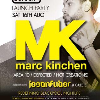 Jason Fubar Live at Club Domain Blackpool - Set Before MK ! Sat 16th August 2014 Part 1
