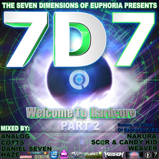 7D VOLUME 7: Welcome To Hardcore (Part Two) - Daniel Seven Mix