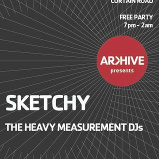 Heavy Measurement DJs   Arkhive Promo Mix   November 2011