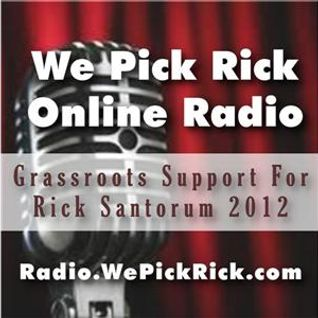 We Pick Rick MIDWEST MADNESS Surprise! 10 p.m. EST 2-19-12
