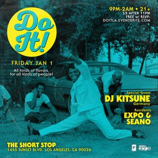 DJ Kitsune - Live @ The Short Stop, Los Angeles (Jan 1, 2016)